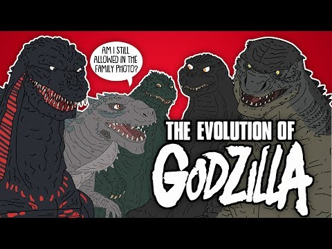 A History and Evolution of Godzilla
